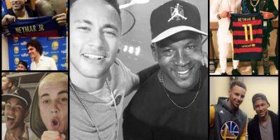 De Jordan a Bieber: Las vacaciones rodeado de estrellas de Neymar