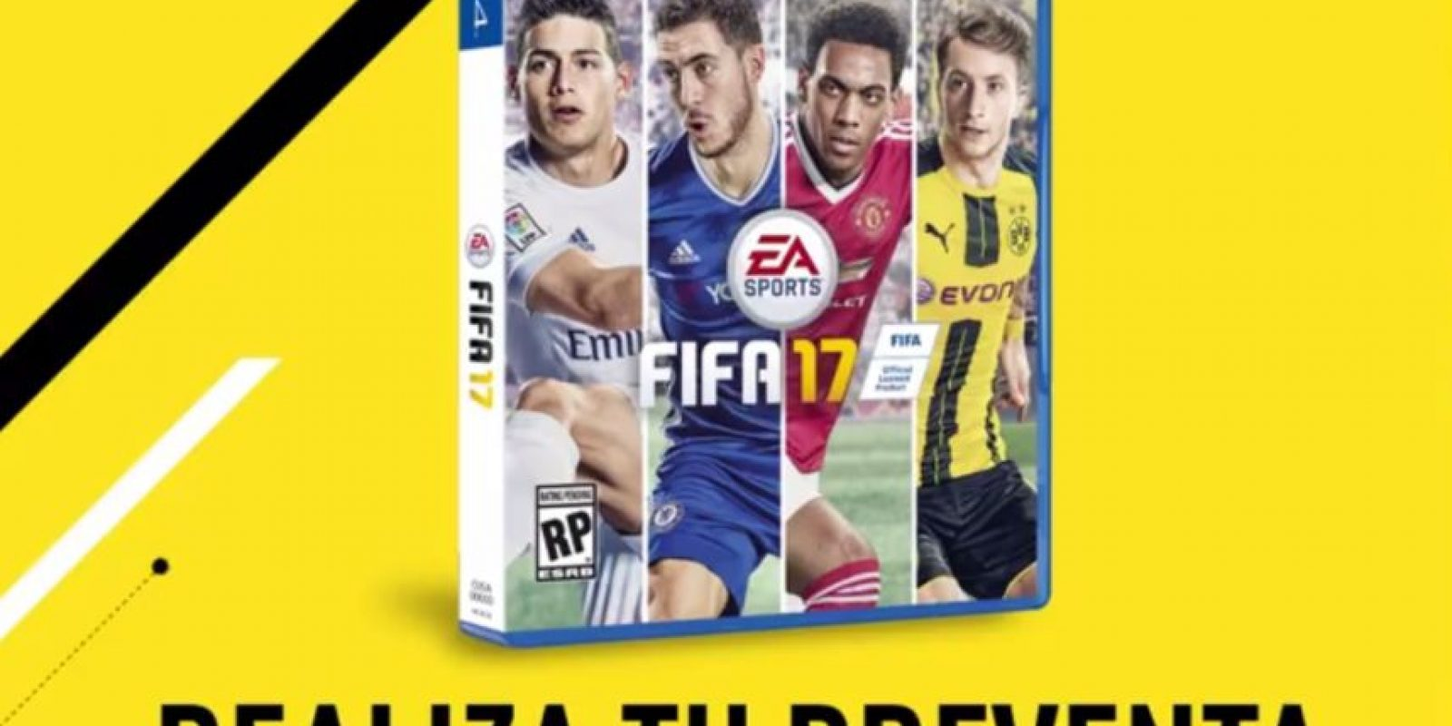 Foto: Facebook EA SPORTS FIFA Latinoamérica