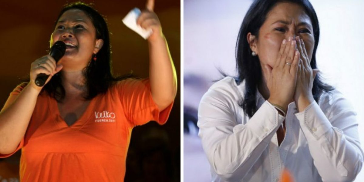 Las dos veces de Keiko Fujimori a las puertas de la presidencia
