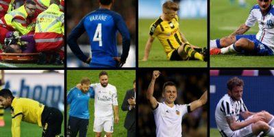 El once ideal de los jugadores que se pierden la Euro por lesión