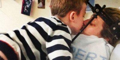 Mujer despierta del coma al escuchar un emotivo mensaje de su hijo