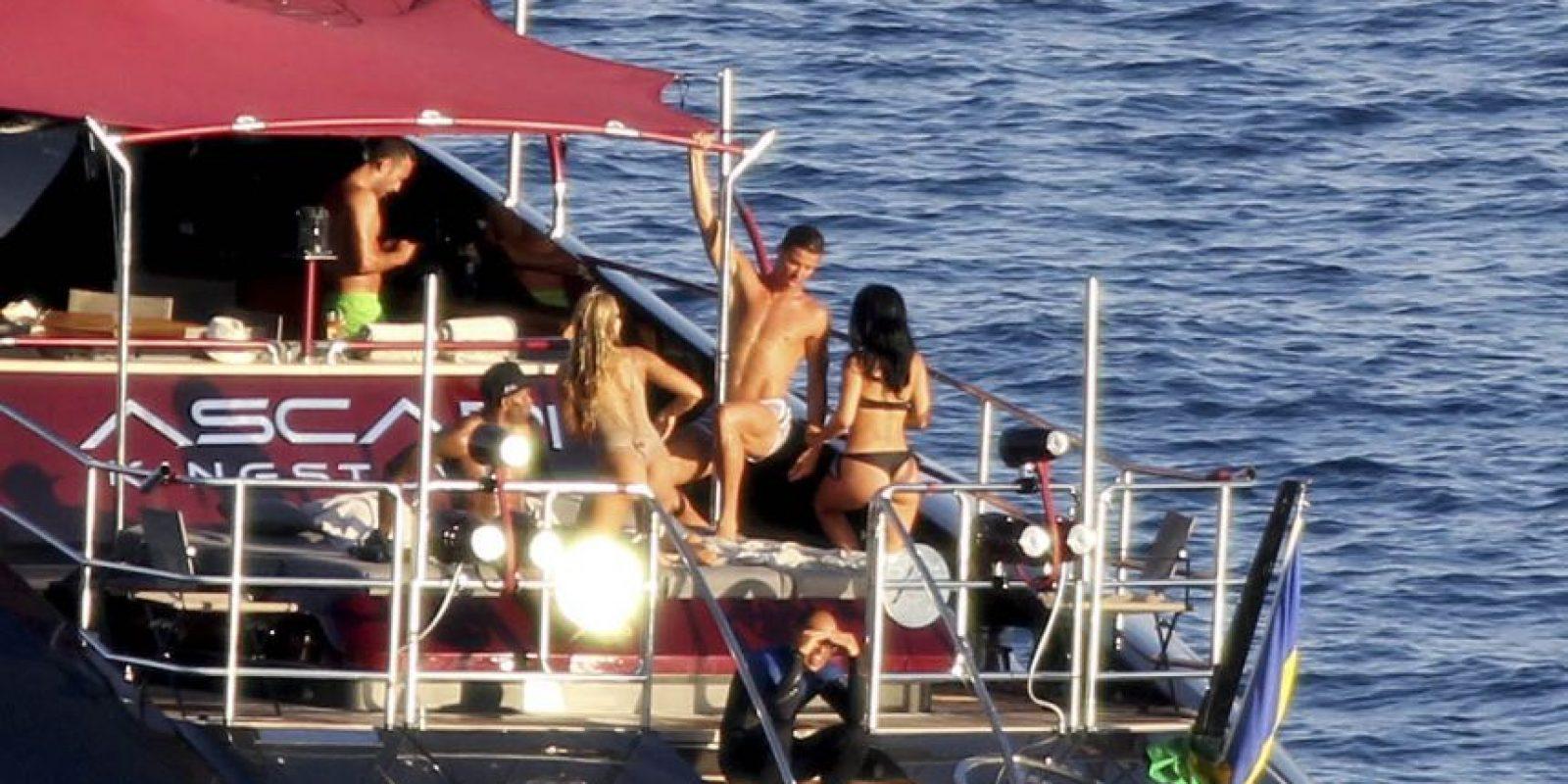 Así disfruta Cristiano Ronaldo sus vacaciones Foto:Grosby Group