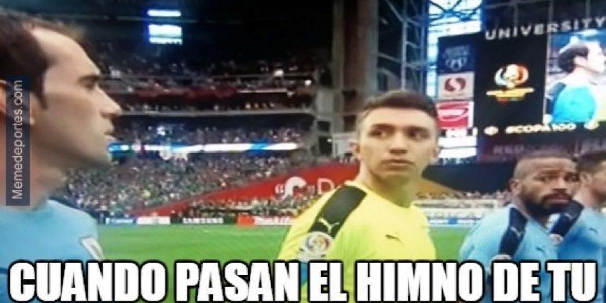 #CopaAmerica Por error hacen sonar el himno de Chile y no el uruguayo