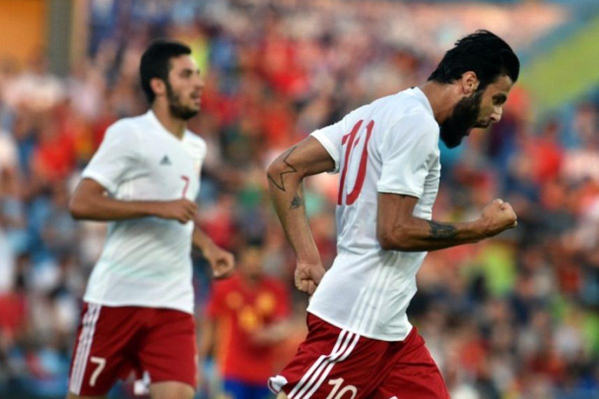 Georgia ocupa el puesto 137 del ranking FIFA y es la selección con el ranking más bajo que le ha ganado a los ibéricos Foto:AFP