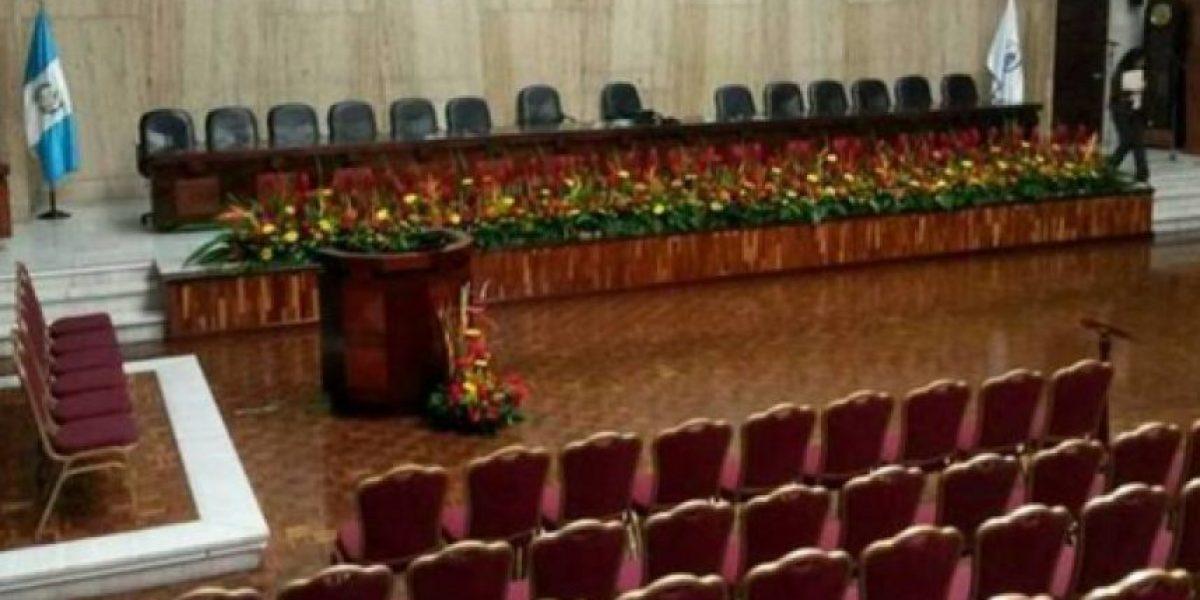 Audiencia de primera declaración del caso #CooptacionEstadoGT será en la sala de vistas de la CSJ