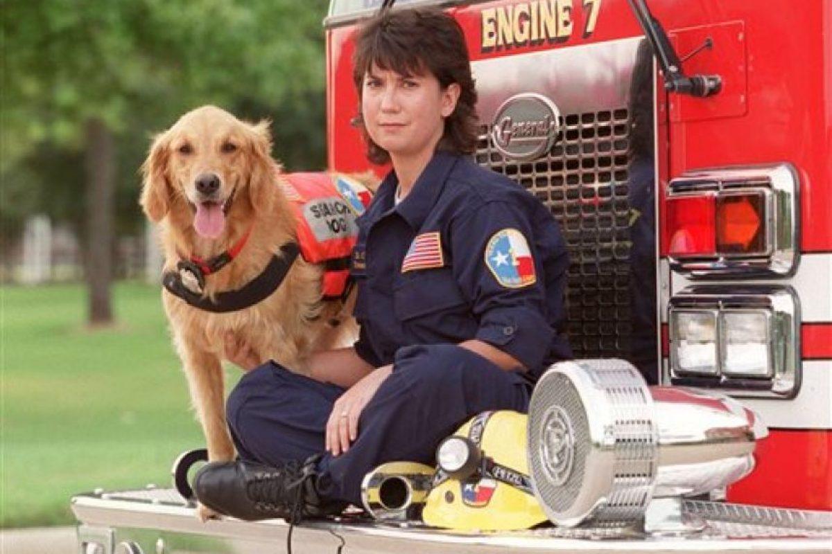 Bretagne fue uno de los perros rescatistas del 11 de septiembre Foto:AP