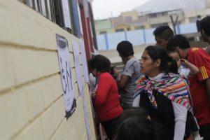 La población peruana salió a votar por un nuevo representante el domingo 5 de junio. Foto:AP
