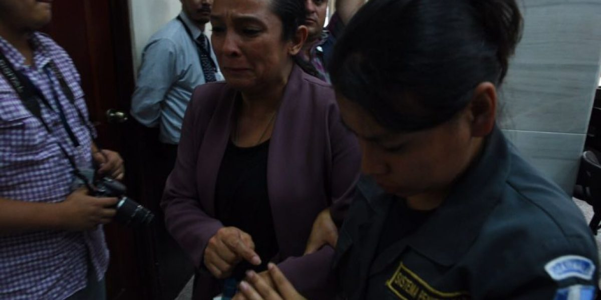 """Condenada por """"Plazas fantasma"""" en el Congreso pasará """"su vida"""" en prisión"""