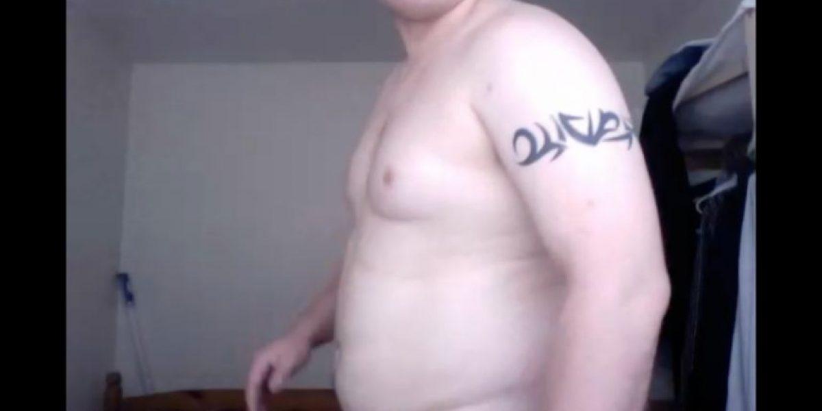 Pasó de ser un hombre con sobrepeso a un sexy entrenador fitness