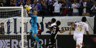 La selección estadounidense no le dio oportunidad a Costa Rica. Foto:AFP