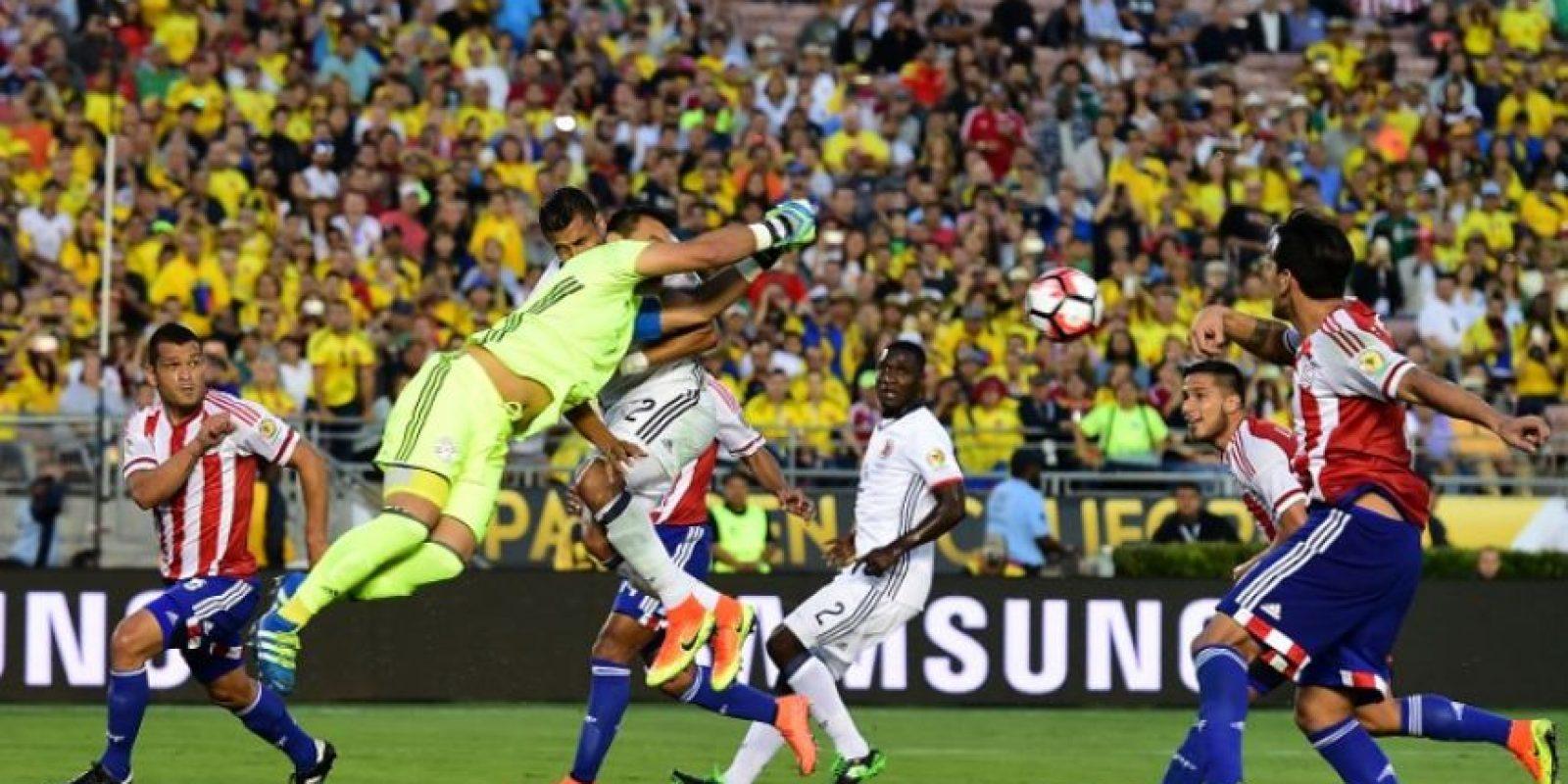 La selección colombiana ganó su segundo partido en la Copa y sumó seis puntos. Foto:AFP
