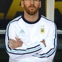 Argentina debutó en la Copa América Centenario ante Chile… Foto:Getty Images
