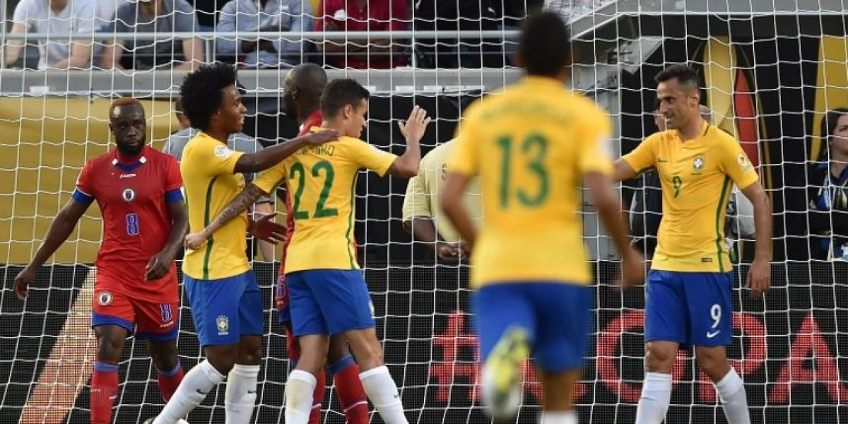 Resultado del partido Brasil vs. Haiti, Copa América Centenario 2016