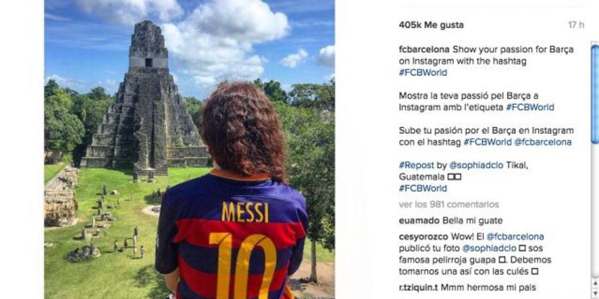 La pasión de los guatemaltecos no pasa desapercibida para el Barça