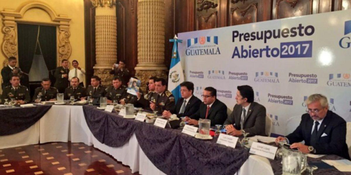 Ministerio de la Defensa pide Q204 millones más para el próximo año