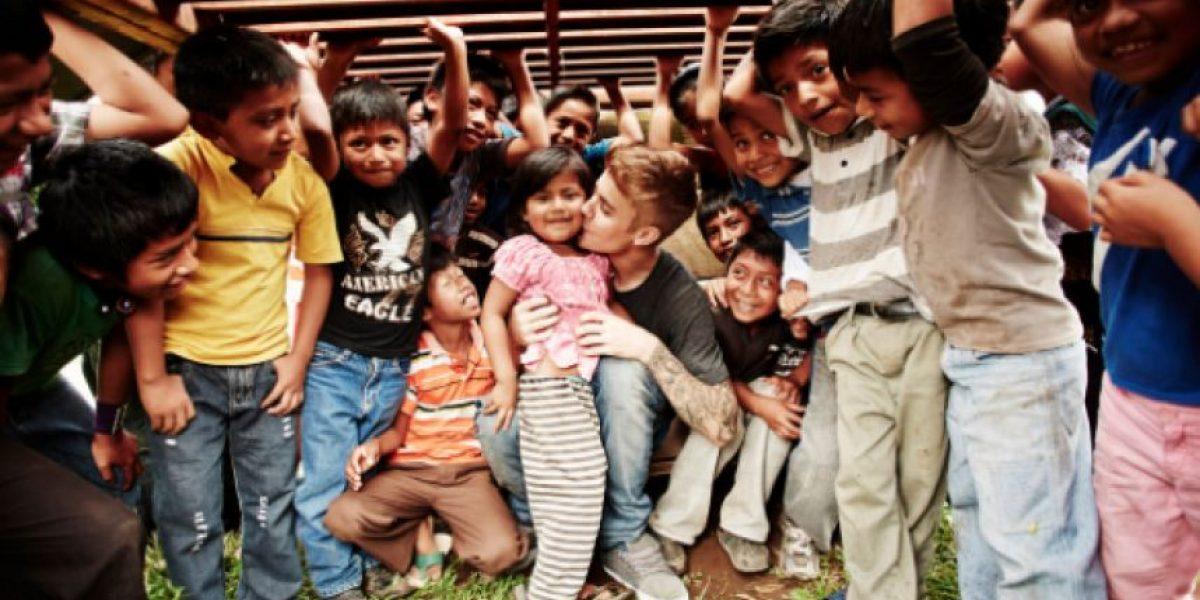 Niños guatemaltecos envían un tierno mensaje a Justin Bieber