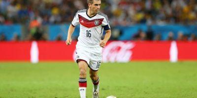 El lateral alemán jugó el torneo de 2004, 2008 y 2012, siendo segundo en el torneo disputado en Austria y Suiza Foto:Getty Images