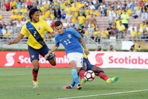 Los brasileños querrán mejorar la imagen que dejaron en su debut tras el empate sin goles con Ecuador Foto:Getty Images