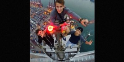 Distintos jóvenes se han hecho famosos gracias sus intrépidas hazañas para captar los mejores selfies. Foto:instagram.com/daniel__lau