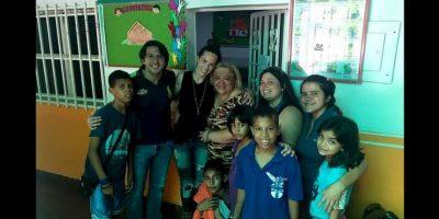 """""""En Venezuela cuesta mucho conseguir fórmula, y los hospitales ya no cuentan con los insumos necesarios para alimentar a los niños"""" Foto:comparteporunavida.com"""