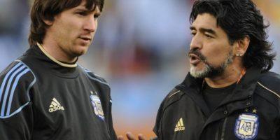 El exastro argentino se refirió a Messi en una conversación con Pelé, la exestrella de Brasil.El exastro argentino se refirió a Messi en una conversación con Pelé, la exestrella de Brasil. Foto:AFP