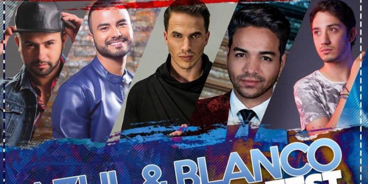 Azul y Blanco Fest: 5 artistas nacionales, 1 sola tarima