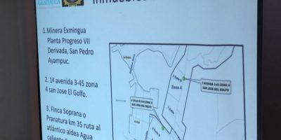 Juzgado Cuarto Penal ordena arraigo para directivos de la mina La Puya