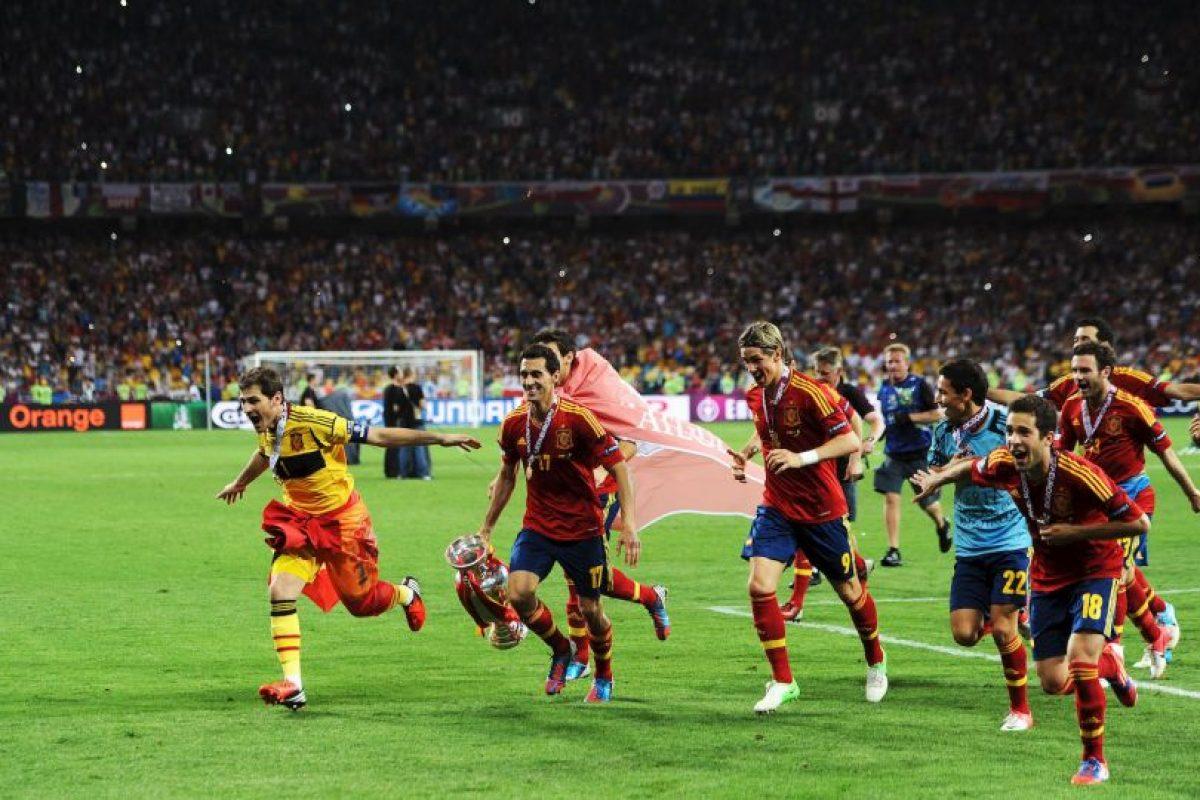 España, campeón de la Euro 2012 Foto:Getty Images