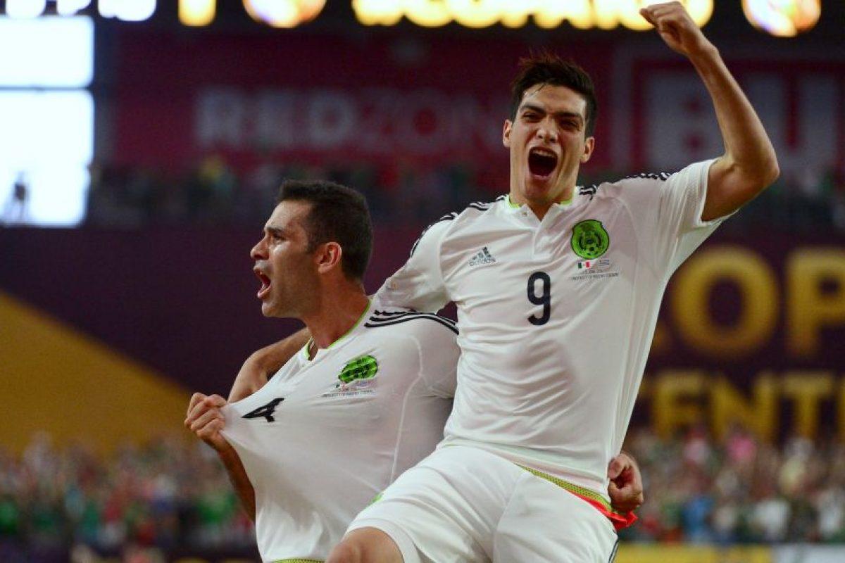 Ahora, los mexicanos buscarán seguir al mismo nivel en la segunda fecha, cuando enfrenten a Jamaica en el Rose Bowl Stadium de Pasaden Foto:Getty Images