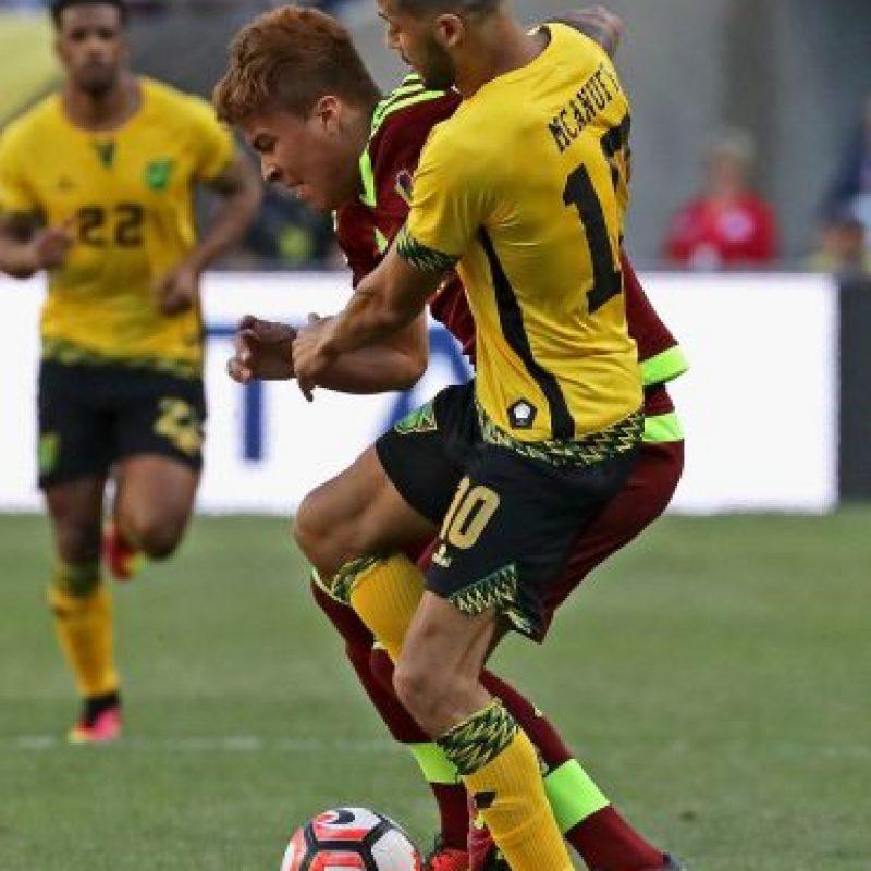 En tanto, Jamaica cayó 1-0 con Venezuela Foto:Getty Images