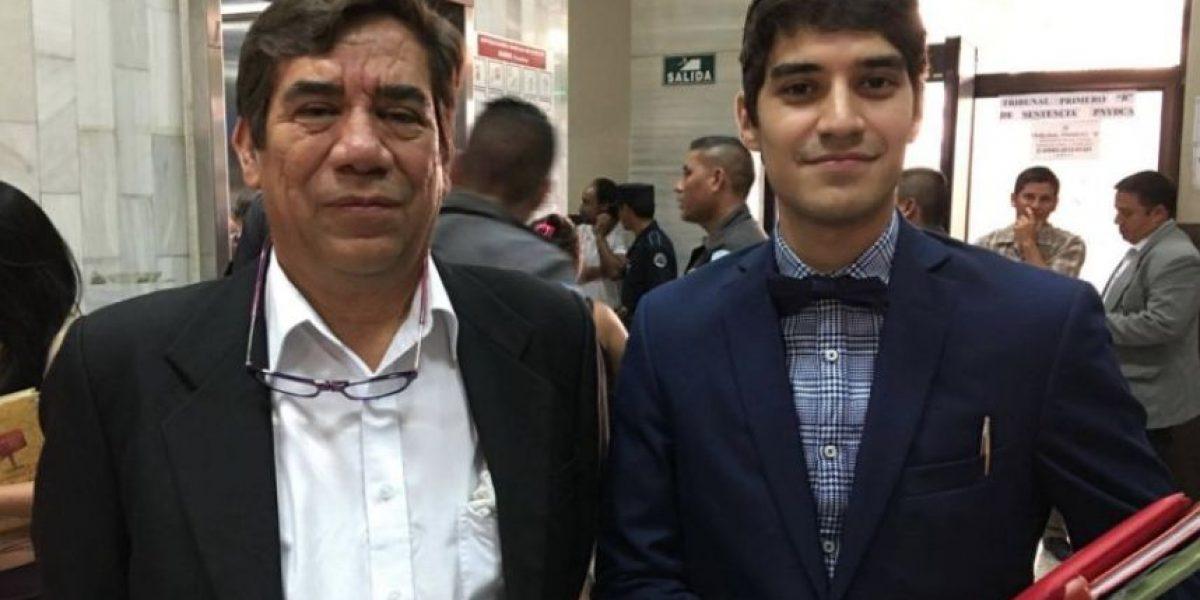 Joven abogado pide al juez libertad para su padre en caso #BufeteDeLaImpunidad