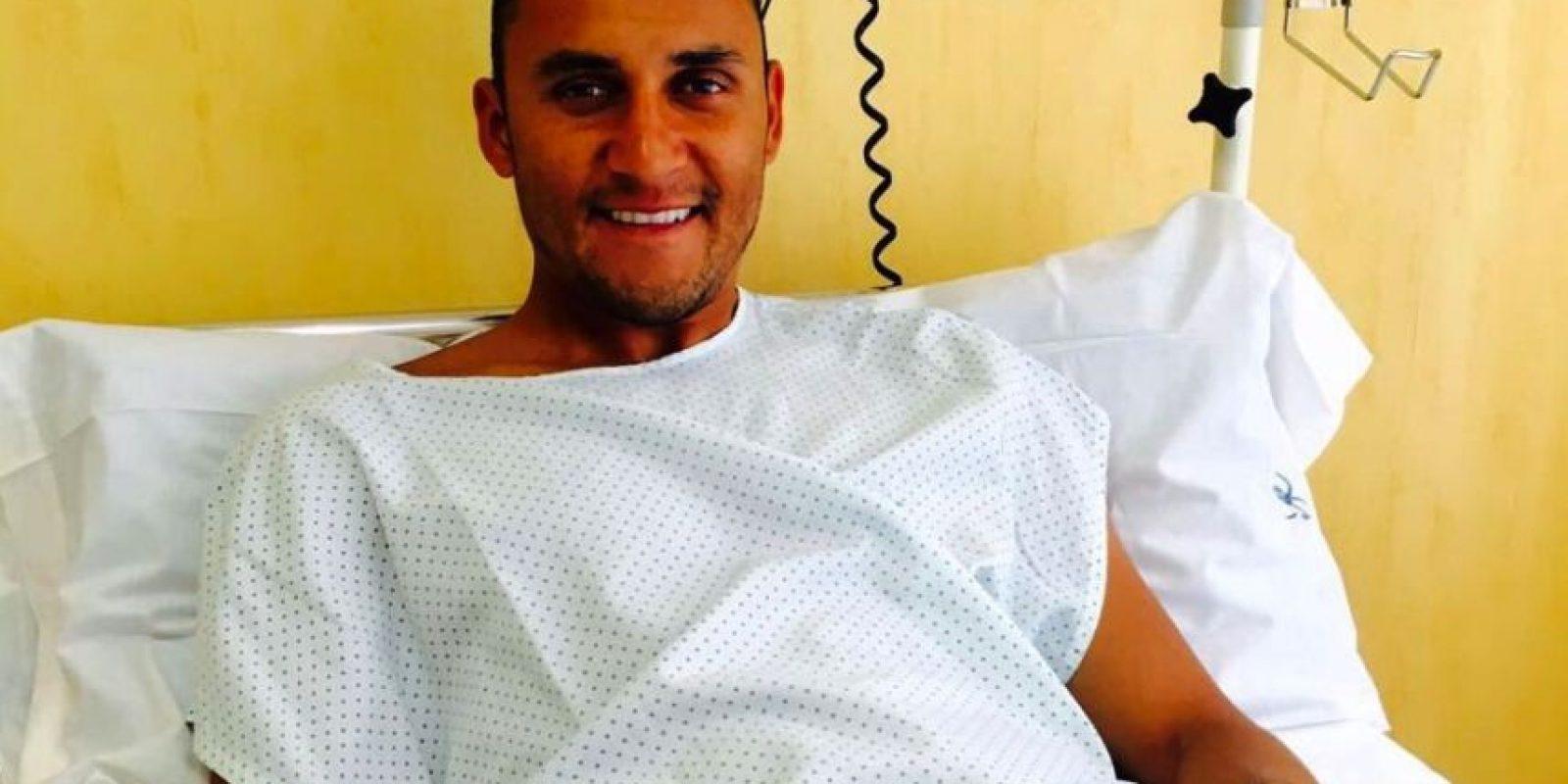 El portero costarricense compartió su alegría a través de las redes sociales. Foto:@NavasKeylor