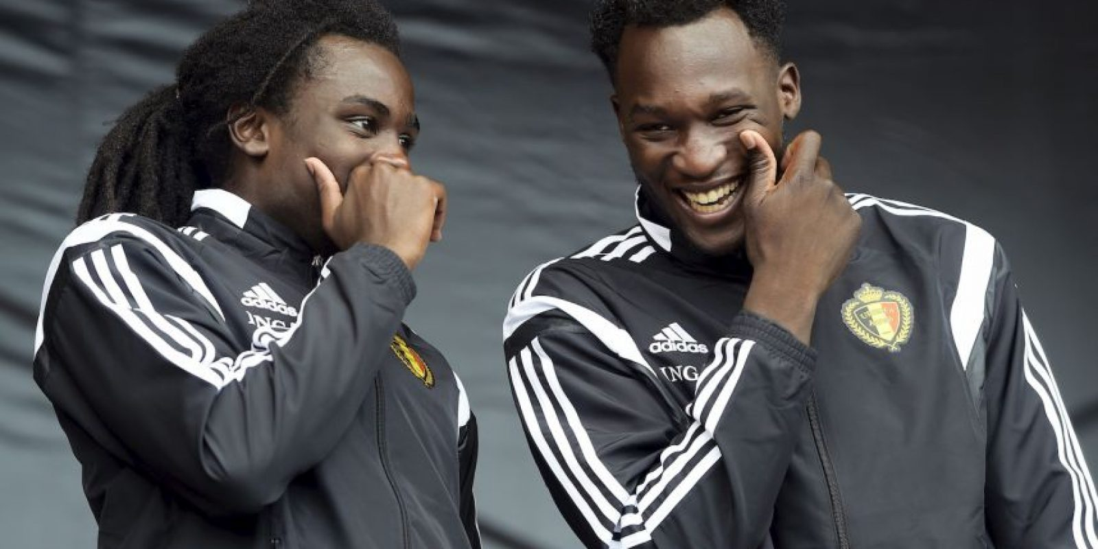 Romelu y Jordan Lukaku son los hermanos que mayor chance tienen de triunfar en la Eurocopa Foto:AFP
