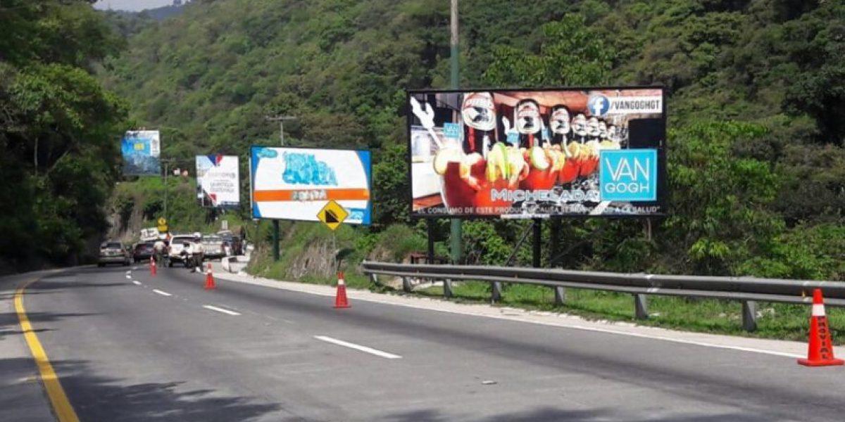¿Por qué retiran las vallas publicitarias en el descenso de Las Cañas?