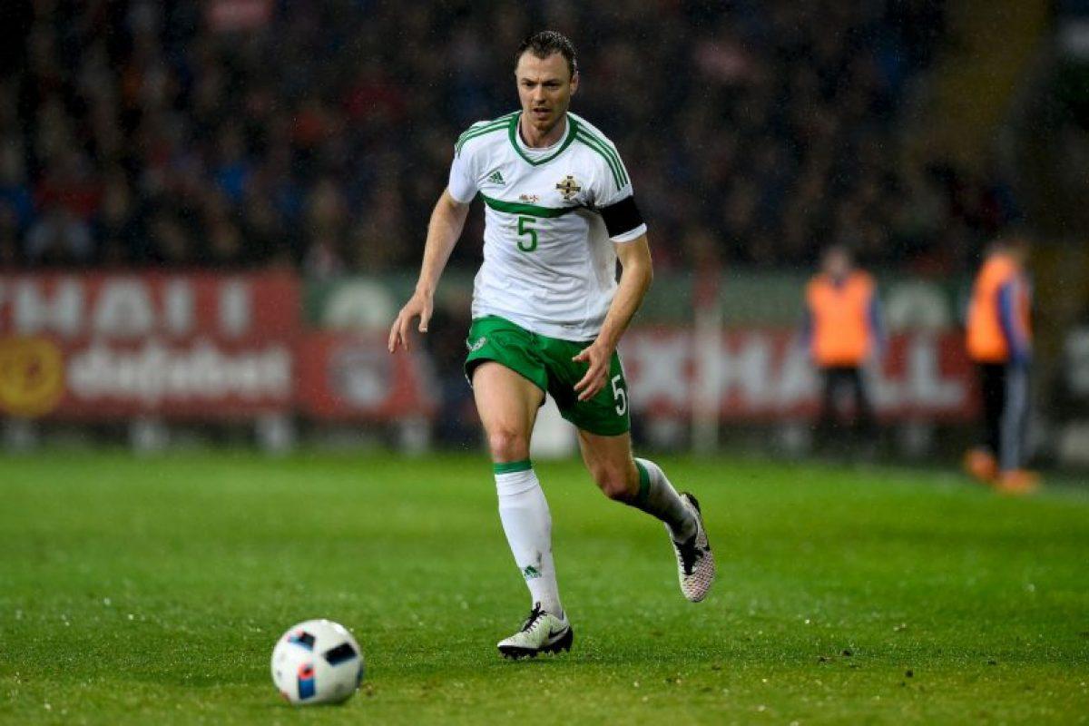 Jonny Evans portará la jineta con Irlanda del Norte Foto:Getty Images