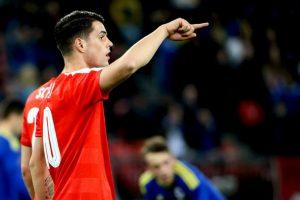 Los hermanos Xhaka se enfrentarán en el Grupo A de la Eurocopa Foto:Getty Images