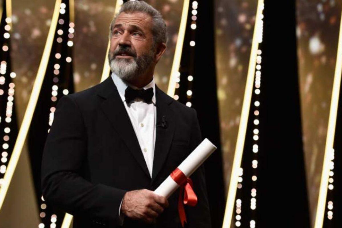 """El actor Mel Gibson fue el encargado de dirigir """"La Pasión de Cristo"""" en 2004. Foto:Getty Images"""