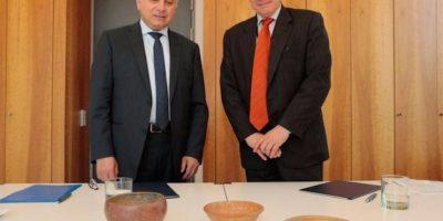 Alemania devuelve piezas arqueológicas del patrimonio cultural de Guatemala