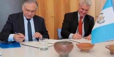 Foto:Ministerio de Relaciones Exteriores de Guatemala