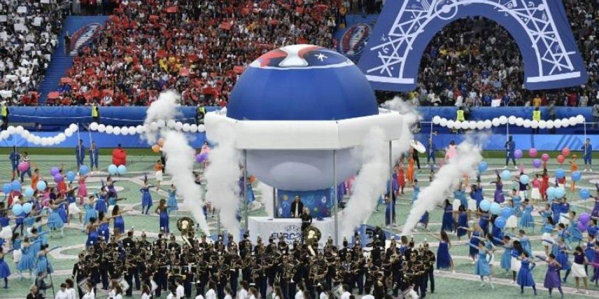 EN IMÁGENES. Así fue la inauguración de la Eurocopa 2016