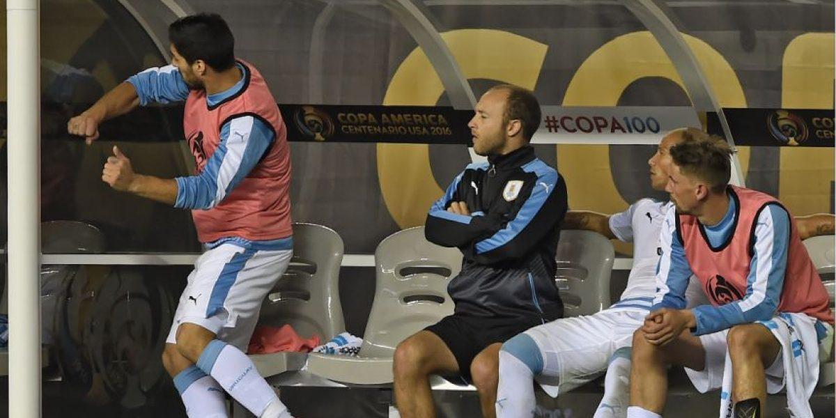 El berrinche de Suárez en la Copa América que se hizo viral