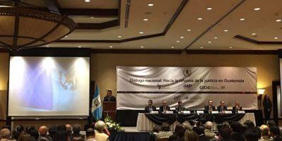 Se realiza segunda fase del Diálogo Nacional sobre reformas al sector justicia