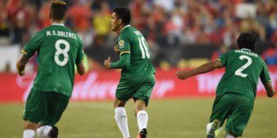 La Roja logró tres puntos con los que aún aspira a clasificarse a la fase final. Foto:AFP