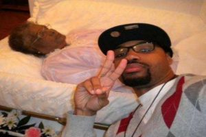 La última selfie con la abuela. Foto:Tumblr