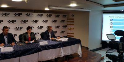 Foto:Presentación MP y CICIG