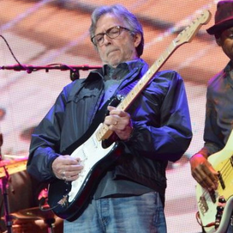 Eric Clapton, uno de los mejores guitarristas del mundo Foto:Getty Images