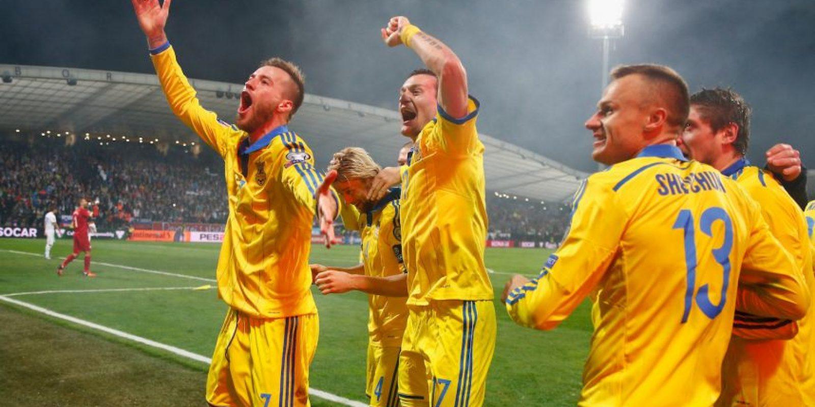 Apenas es la segunda Euro que juega Ucrania Foto:Getty Images