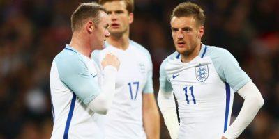 Los ingleses presentan una ofensiva encabezada por Rooney y Vardy Foto:Getty Images