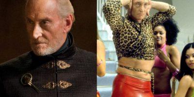 """Charles Dance es un actor de trayectoria. Estuvo en """"Las Joyas de la Corona"""" y se vistió así para una película de """"Ali G"""", antes de ser el temible Twynn Lannister. Foto:HBO/ Universal"""