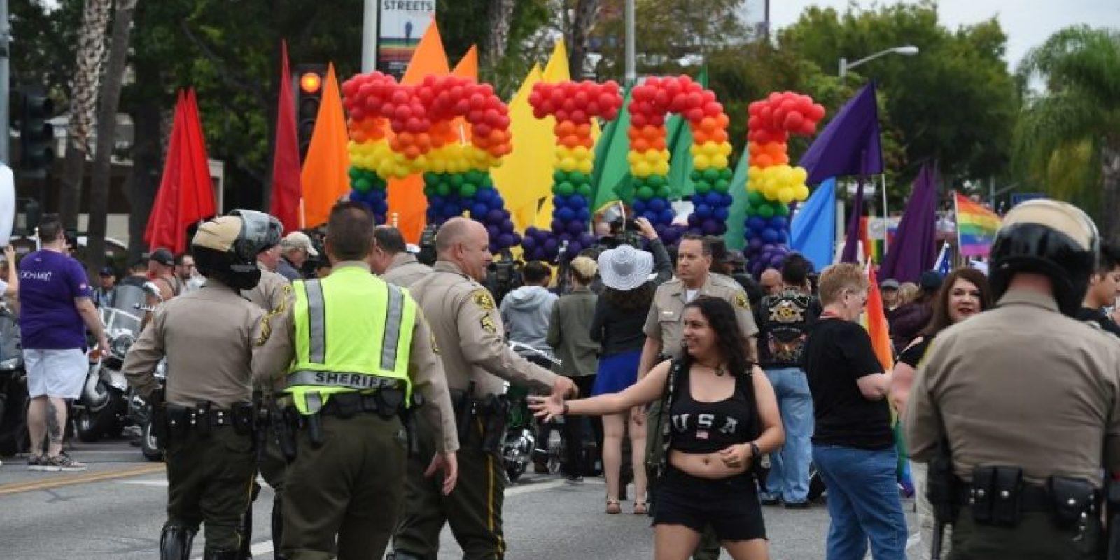 Mientras la comunidad LGBT alza la voz Foto:AFP